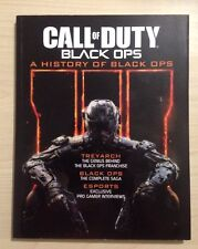 CALL OF DUTY A HISTORY OF BLACK OPS RARE PROMO BOOK The Complete Saga Franchise