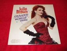 JULIE BROWN ~ TRAPPED IN THE BODY OF A WHITE GIRL  LP  MINTT/ NEVER PLAYED
