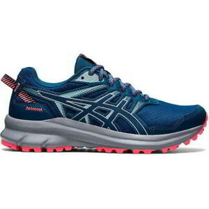 Asics Trail Scout 2 Womens Ladies Blue Trail Running Shoes Trainers Size 6-7.5
