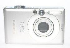 Canon IXUS 40 digital camera | FAULTY | Error E18 | DEFECT