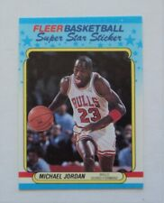 1988 Fleer Basketball #7 Michael Jordan Sticker MINT  FLASH SALE