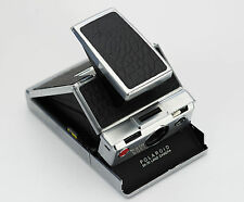 Polaroid SX-70 Replacement skin cover - Laser Cut Recycled Leather - Black