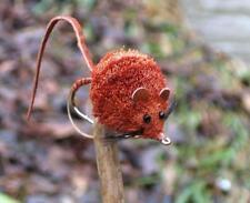 Gilchrist Fliegen. Brown Mouse Hechtstreamer. 3 Stück Hakengröße 4