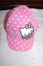 M&S Kids Hello Kitty Baseball Cap Pink Mix Age 6-18 Months BNWT