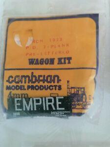 Cambrian wagon kits Empire RCH 1923 P O 7 plank