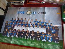 Inter 2008-09 Poster Gigante 80x55!! Nuovo!! 16 Scudetto!!