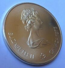 5 CANADIAN DOLLARS COIN FROM 1976 SUMMER OLYMPIC GAMES IN MONTREAL CANADA PHOTOS