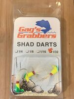 3//Pack 1//8 oz Green//Chartreuse Gags GGSD18-35 Shad Dart