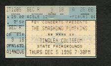 1996 Smashing Pumpkins Garbage Concert Ticket Stub Albuquerque Infinite Sadness