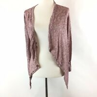 American Eagle Outfitters Womens Drape Open Front Cardigan Sweater Size Large