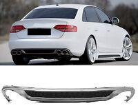 Für Audi A4 8K B8 Vorfacelift Diffusor Standard Stoßstange Spoiler ohne S-Line