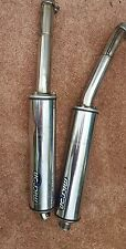 Kawasaki ZX9R MICRON exhaust silencer muffler pipe aftermarket set