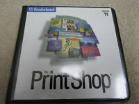 Broderbund The Printshop Version 11 7 Discs