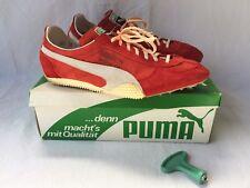 PUMA SPECIAL 248 Spikes Turnschuhe Sneaker  Gr. 9 Ca. EUR 43 Rot Weiß. Vintage