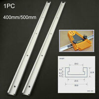 Router Table Wide Use Tool Sliding Woodworking Jig T Slot Miter Track With Scale