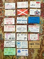 20 Qsl Cards 1960's Short Wave Ham Radio 73s 88s Cb trucker post cards Look (O)X