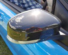 Mk2 Facelift and Mk3 Focus Mirror Caps inc ST and RS Black Carbon Fibre