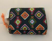 NWT Vera Bradley Lighten Up RFID Card Case Mini Wallet in Mini Medallions