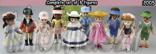 MADAME ALEXANDER toy doll figure set  (all 10) McDonalds McD (2005) *NIOP
