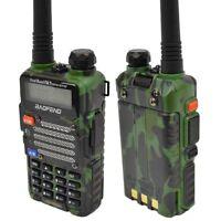 Baofeng Green UV-5R V2+ Dual-Band 136-174/400-480 MHz FM Ham Two-way Radio