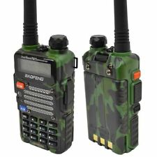 Baofeng Green UV-5R V2+ Dual-Band 136-174/400-480 MHz FM Ham Two-way Radio