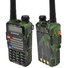 Baofeng Green UV-5R V2+ Dual-Band 136-174/400-480 MHz FM Ham Two-way Radio 2016