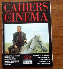 CAHIERS DU CINÉMA N°460 oct 92 Cyril Collard  Hal Hartley  Nicholas Ray Eastwood