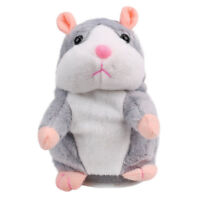 Talking Hamster Repeats What You Say Electronic Plush for Party Toys Child Kids