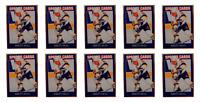 (10) 1992 Sports Cards #22 Brett Hull Hockey Card Lot St. Louis Blues