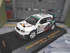 SKODA Fabia WRC Rallye Monte Carlo 2005 #12 Bengue Shell Helix SP IXO RAR 1:43