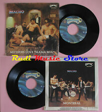 LP 45 7''MACHO II Mothers love mama mia Montreal 1980 italy GOODYMUSIC cd mc dvd
