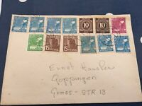 Germany Wurttemberg cover to Goppingen interesting franking