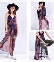 Urban Outfitters Flyaway Maxi Dress  Chiffon by Band of Gypsies Medium BOHO $98