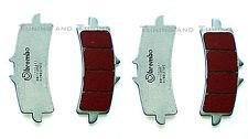 Pastiglie Anteriori BREMBO SC RACING Per DUCATI 848 EVO 2012 12  (07BB37SC)