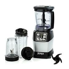 Ninja 1200W Compact Food Processor & Personal Blender with Auto-iQ - BL490UK