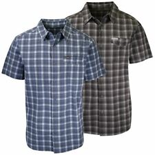 Columbia Men's Fir Ridge Plaid S/S Woven Shirt (Retail $55)