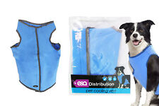 More details for pet cooling dog vest reflective lightweight reusable 6 hours cool one size