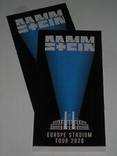 Rammstein in Tallinn - 2 Hardtickets - 21.7.2021 nicht personalisiert Termin neu