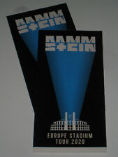 2 Hardtickets Rammstein in Tallinn 21.7.21 nicht personalisiert, inkl. Rücknahme