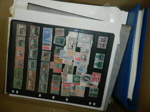 LARGE COMMONWEALTH STAMPS ACCUMULATION IN BOX (ALL PERIODS)