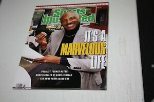 MIDDLEWEIGHT CHAMP MARVIN HAGLER UNSIGNED 11X14 PHOTO SPORTS ILLUSTRATED COVER