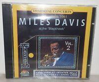CD MILES DAVIS - AT THE BLACKHAWK VOL.2 - NUOVO - NEW