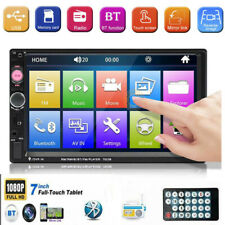 Double 2 DIN 7 inch Car Radio Stereo Bluetooth FM USB/MP5 Player Touch Screen SD
