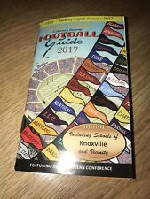 New! 2017 Peek' Size Collector's Favorite Football Guide Knoxville Tennessee SEC