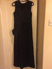 Stunning Next Black Maxi Dress Ballgown Evening Dress Size 14