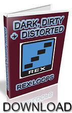 DARK, DIRTY + DISTORTED REX LOOPS - REASON REFILL - CUBASE  - LOGIC - ABLETON