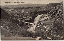 GORIZIA, VISTA DAL MONTE SANTO. VIAGGIATA 1922