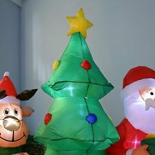 Inflatable Christmas Led Decoration Lights Indoor Outdoor Santa Reindeer Tree
