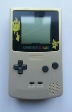 Refurbished Nintendo Pokemon Pikachu Light Gold Game Boy Color Console