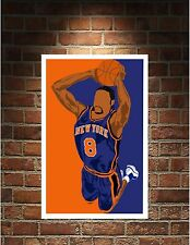 New York Knicks Ewing Reed Frazier Melo Spreewell Prints Bobblehead Art
